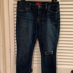 Lucky Brand Leyla Capri jeans